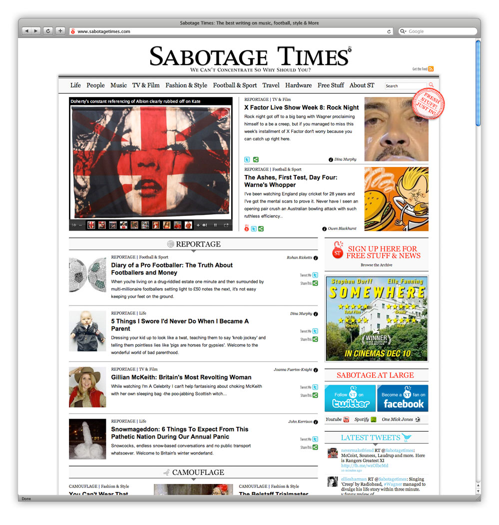 AndAndAnd Creative Sabotage Times 01 Home