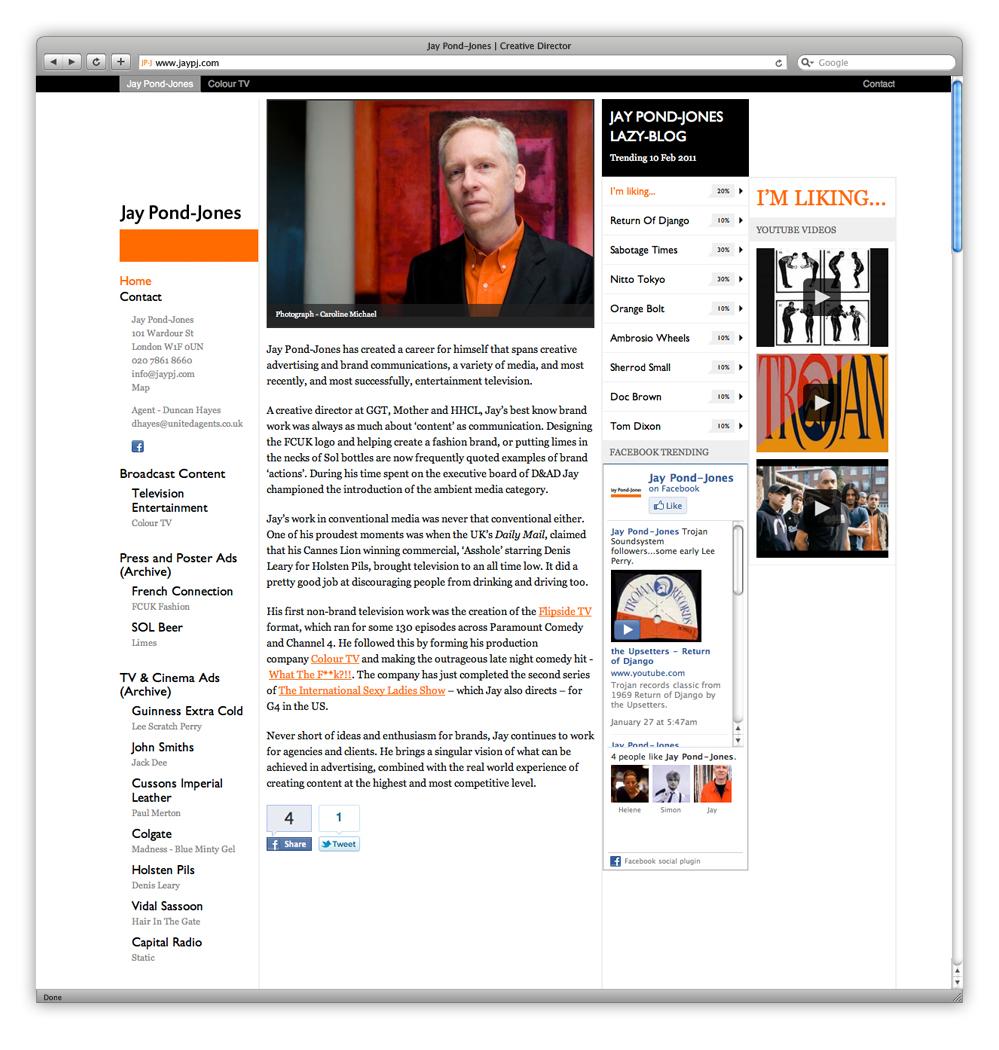 Jay pond jones web design development news for Design of maturation pond