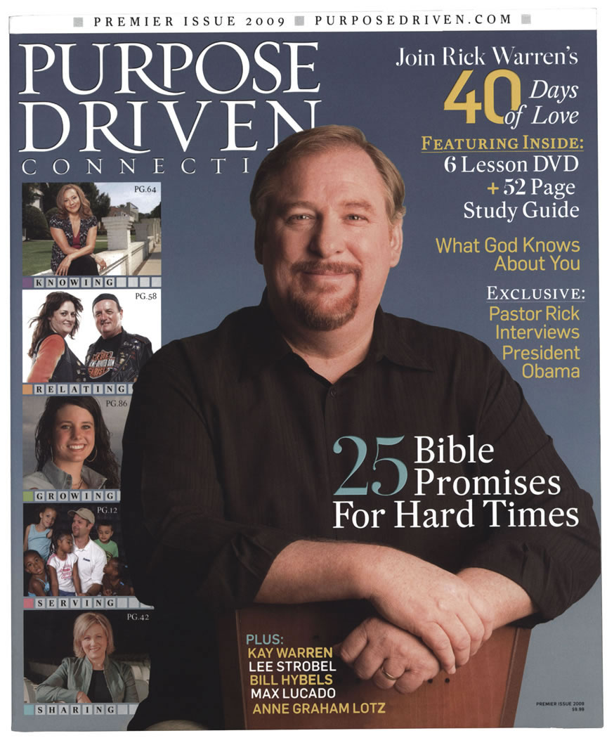 book report on the purpose driven church