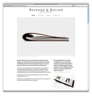 Bespoke & Bound Website