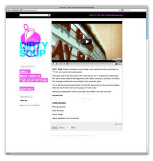 Dirty Soup Website