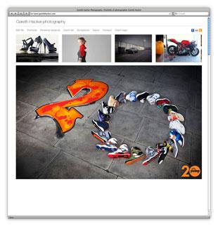 Gareth Hacker Website