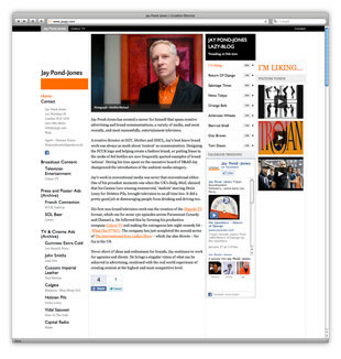 Jay Pond-Jones Website