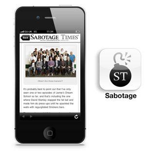 Sabotage Times App