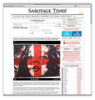 Sabotage Times Website